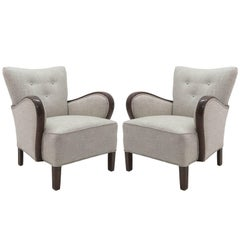 Pair of Danish Club Chairs, 1940