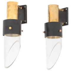 Pair of Danish Design Midcentury Wall Sconces by Kay Kørbing, 1960s