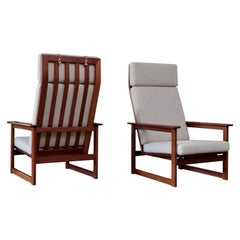 """Pair of """"Florens"""" Easy Chairs by Erik Wørtz, 1960s"""