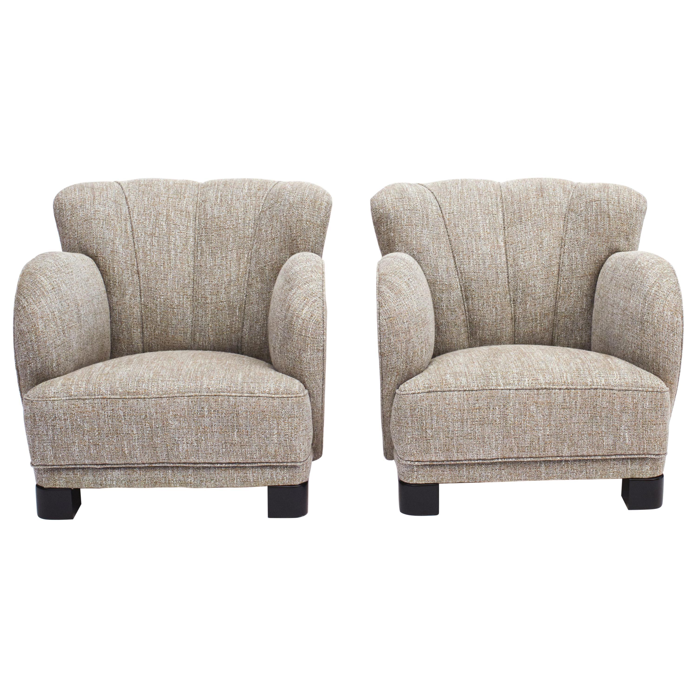 Pair of Danish Midcentury Club or Lounge Chair by Eilersen
