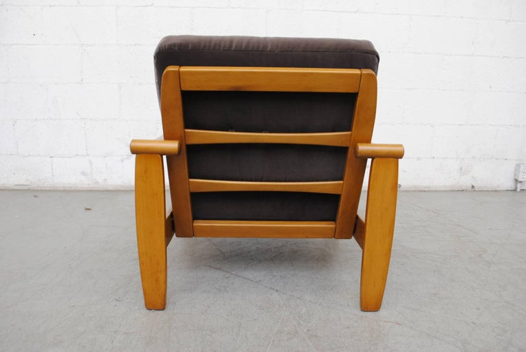 Pair of Danish Mid-Century Lounge Chairs For Sale 3