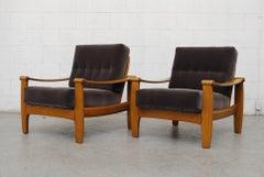 Pair of Danish Mid-Century Lounge Chairs