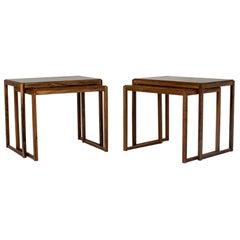 Pair of Danish Midcentury Nesting Tables