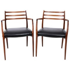 Pair of Danish Modern Armchairs