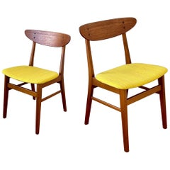 Pair of Danish Modern Chairs by Farstrup Mobler