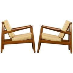 Pair of Danish Modern Chairs by P. Jeppesen, 1955