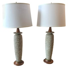 Pair of Danish Modern Table Lamps