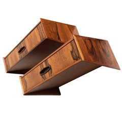 Pair of Danish Midcentury Nightstands