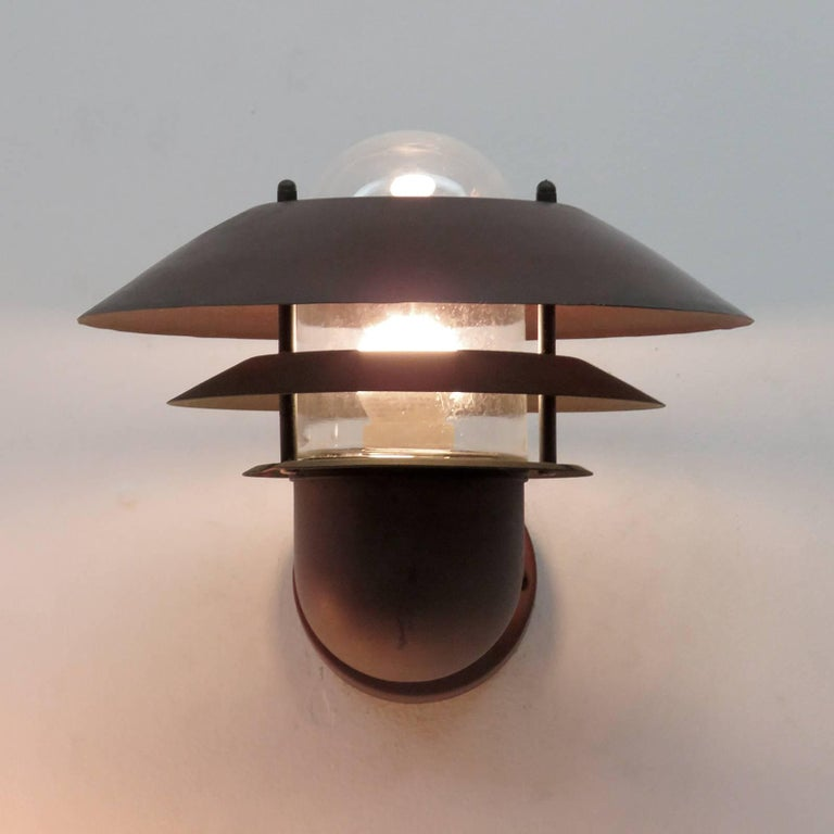 Pair of Danish Outdoor Wall Lights by Nordlux For Sale 3