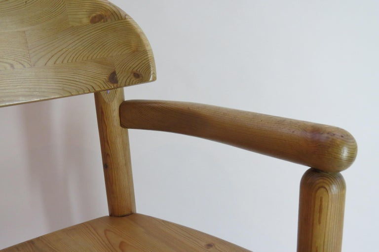 Pair of Danish Pine Carver Dining Chairs by Rainer Daumiller for Hirtshals For Sale 5