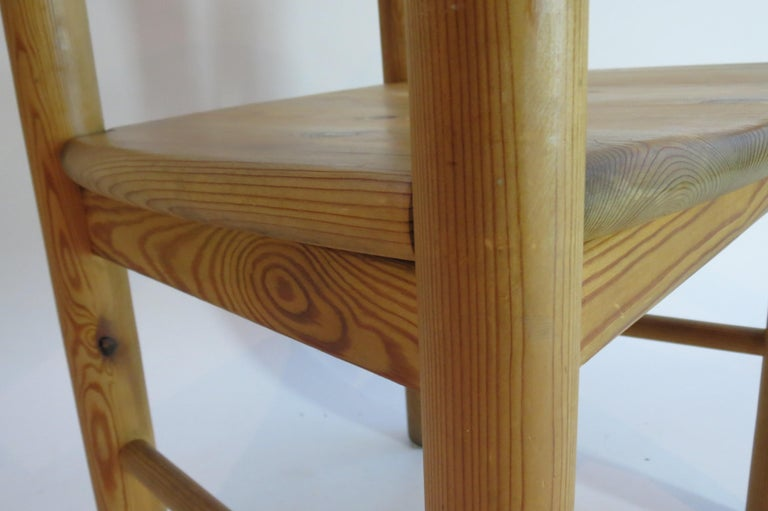 Pair of Danish Pine Carver Dining Chairs by Rainer Daumiller for Hirtshals For Sale 6