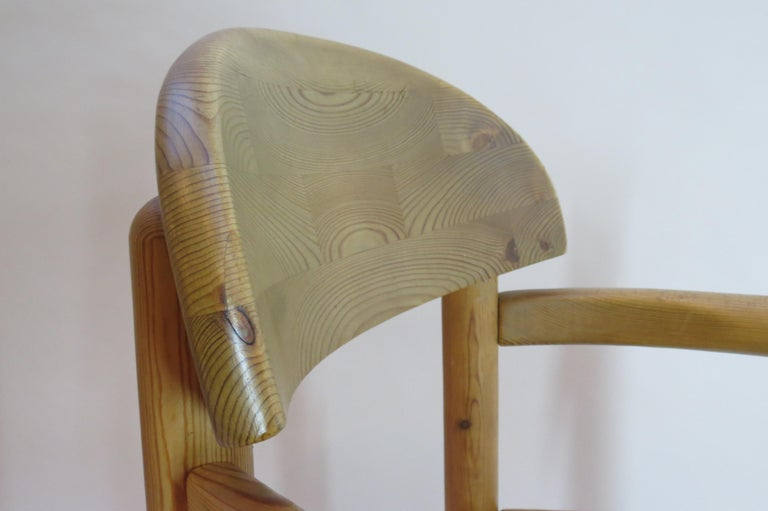 Pair of Danish Pine Carver Dining Chairs by Rainer Daumiller for Hirtshals For Sale 7