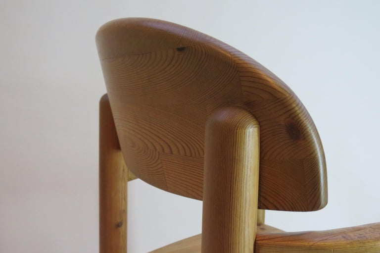 Pair of Danish Pine Carver Dining Chairs by Rainer Daumiller for Hirtshals For Sale 8