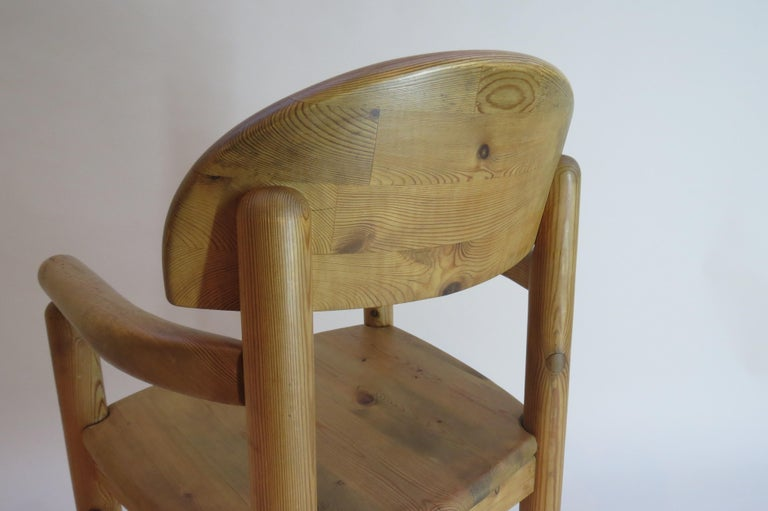 Pair of Danish Pine Carver Dining Chairs by Rainer Daumiller for Hirtshals For Sale 10