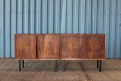 Pair of Danish Rosewood Cabinets