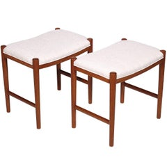 Pair of Danish Stools