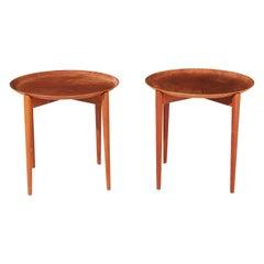Pair of Danish Teak Side Tables, 1960s