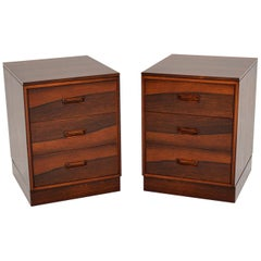 Pair of Danish Vintage Bedside Chests
