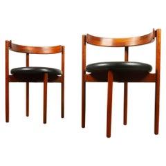 Pair of Danish Vintage Chairs by Hugo Frandsen, 1960s