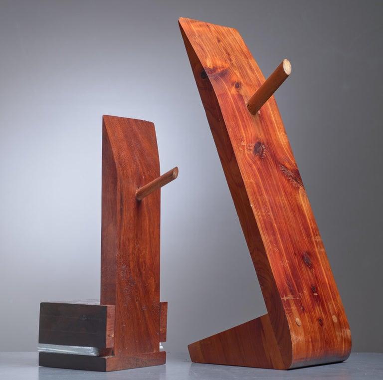 American Pair of David Rogers Bookends, USA, 1980s For Sale