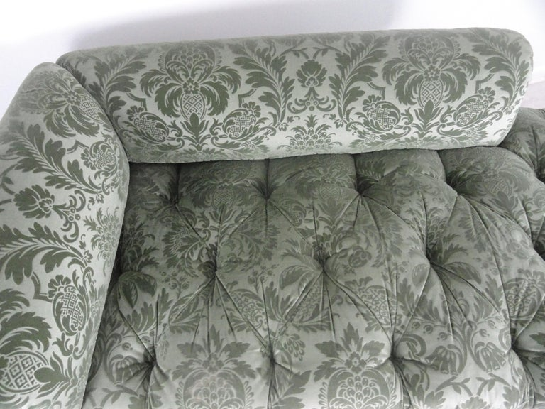 Pair of De Angelis, Ltd Custom Opposing Sofas/Daybeds For Sale 7
