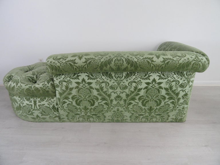 Pair of De Angelis, Ltd Custom Opposing Sofas/Daybeds For Sale 10