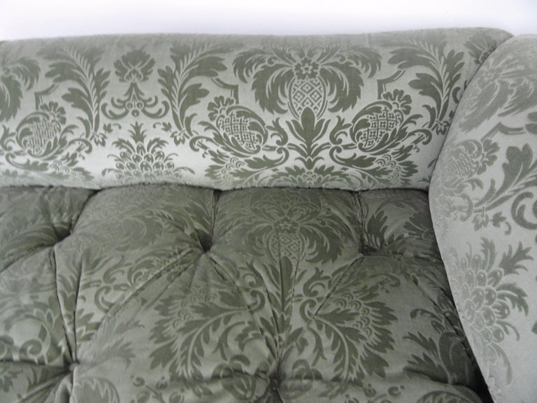 Wood Pair of De Angelis, Ltd Custom Opposing Sofas/Daybeds For Sale