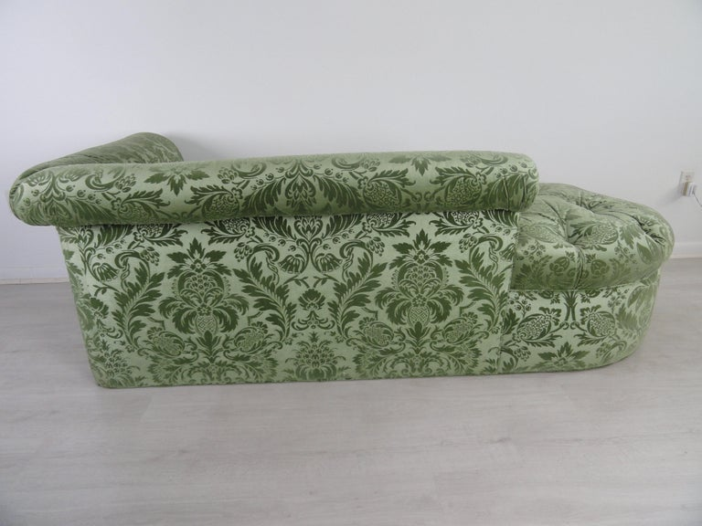 Pair of De Angelis, Ltd Custom Opposing Sofas/Daybeds For Sale 3