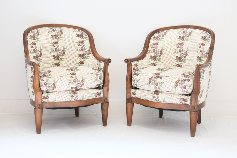 Art Deco Pair of Deco Armchairs For Sale