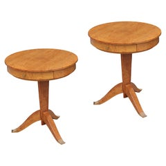 Pair of Deco Style Side Tables