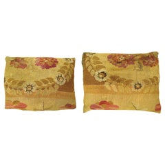 Pair of Decorative Antique Bessarabian Carpet Pillows