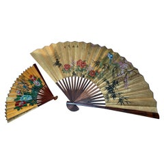 Pair of Decorative Fans