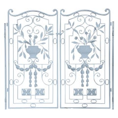 Pair of Decorative Garden Gates