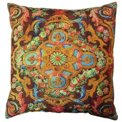 Pair of Decorative Persian Accent Pillow with Down Filling