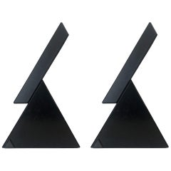 "Pair of ""Delta"" Halogen Table Lamps by Mario Bertorelle for JM RDM, 1980s"