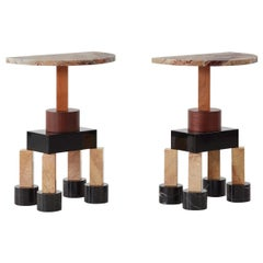 Pair of Demistella Consoles by Ettore Sottsass for Up&Up, Italy, circa 1990