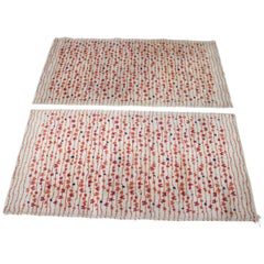 Pair of Design Abstract Modernist Carpets / Rugs, 1960s