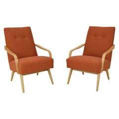 Pair of Design Armchairs, 1970's