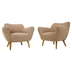 Pair of Design Club Armchairs, 1970's