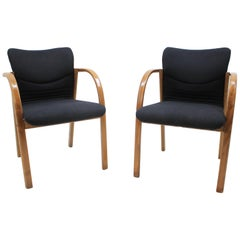 Pair of Design Office / Chairs, 1980s