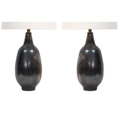 Pair of Design Technics Ceramic Lamps