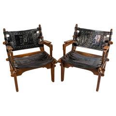 Pair of Designer Armchairs by Angel Pazmino