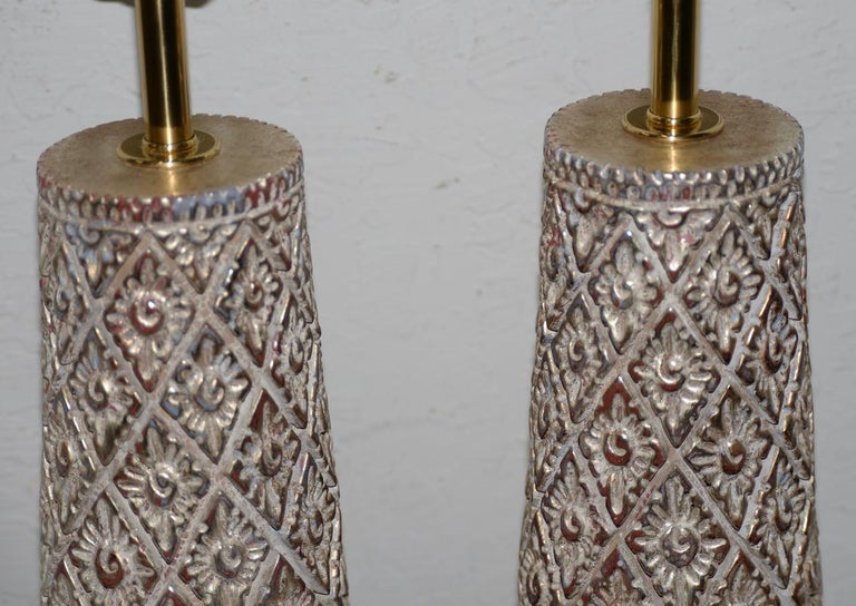 Pair of Designer Table Lamps by James Mont, 20th Century In Good Condition For Sale In San Francisco, CA