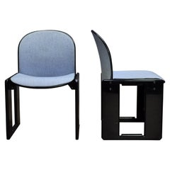 Pair of Dialogo Chairs by Afra and Tobia Scarpa for B&B Italia, circa 1970