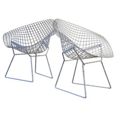 Pair of Diamond Chairs by Harry Bertoia for Knoll