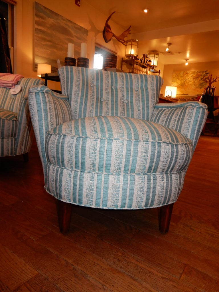 Pair of Diminutive French Art Deco 1930s Custom Armchairs For Sale 1