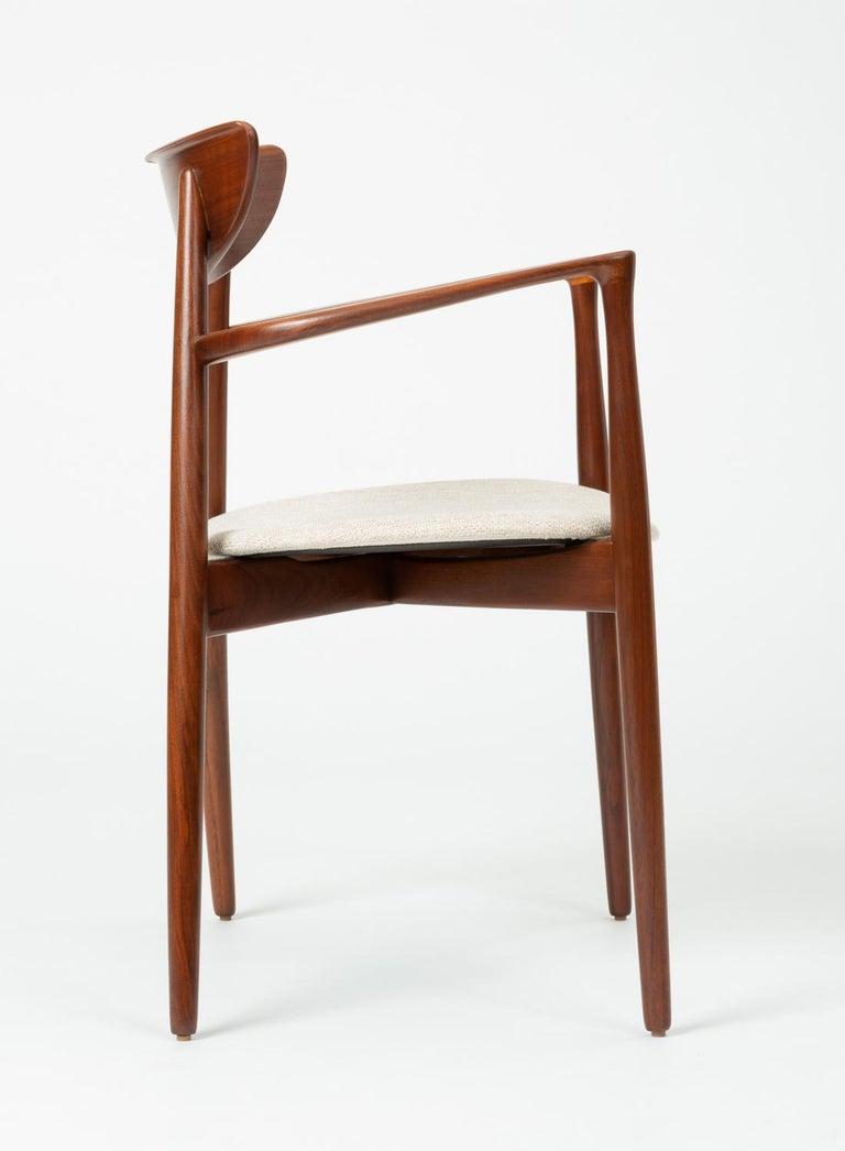 Pair of Dining Armchairs by Harry Østergaard for Randers Møbelfabrik 4