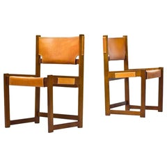 Pair of Dining Chairs by Sven Kai Larsen for Nordiska Kompaniet
