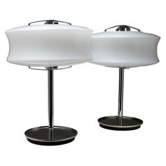 "Pair of ""Directional"" Table Lamps by Gaetano Scolari for Ecolight"