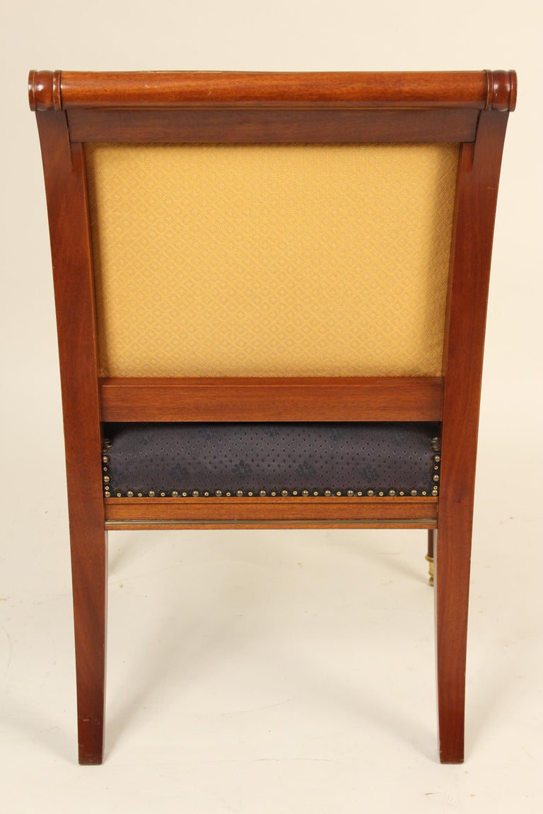 20th Century Pair of Directoire Style Armchairs For Sale